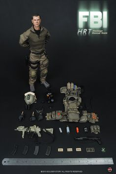 onesixthscalepictures: Soldier Story FBI HRT (Hostage Rescue Team) : Latest product news for 1/6 scale figures (12 inch collectibles) from S...