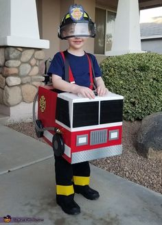 Crystal: My 4 year old son is obsessed with a show called Fireman Sam. When asked what he wanted to be for Halloween it was no question he wanted to be...