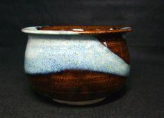 B812: Japanese KYOTO pottery ware slop-basin KENSUI By famous Yoshizo Asami | eBay