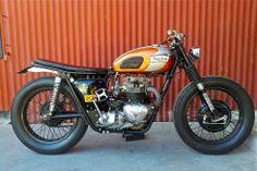 1970 Triumph 650 Street Tracker - Frederico Lozada - Inazuma Cafe Racer