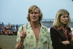 From Jagger to Bowie: British 1970s menswear style icons – in pictures. Formula One 1976 world champion James Hunt.