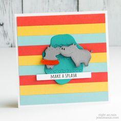 Memory Box Cards, Light Blue Green, Animal Cards, Whittling, Poppies, Color Schemes, Card Stock, Dinosaur Stuffed Animal, Rain