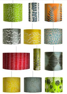 finding the perfect lampshade under is proving impossible. these are all super sweet though.