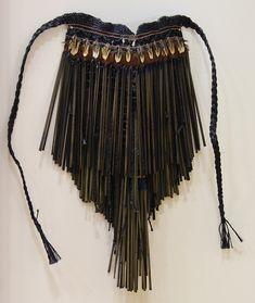 Contemporary First: Maro Seynia Watene-Kidwell Flax Weaving, Loom Weaving, Abstract Sculpture, Wood Sculpture, Bronze Sculpture, Types Of Weaving, African Artwork, Maori Designs, Nz Art