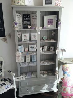 Our gifts displayed very nicely at the Crafters makery in Monkseaton Shop Displays, Table, Gifts, Furniture, Home Decor, Presents, Decoration Home, Room Decor, Tables
