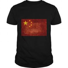 Cool National flag of the People's Republic of China, vintage retro s Shirts & Tees