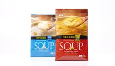 7-SELECT Instant Soup on Packaging of the World - Creative Package Design Gallery