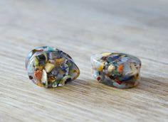 "mix stone plug Teardrop Plugs gauge gemstones plugs Tear Drop gauge dropshaped plugs drop plugs Gauge double flare 2g 0g 00g 1/2"" 9/16"" 5/8"" by JEWELRYandPLEASURE on Etsy"