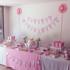 Pink Birthday Party Ideas | Photo 4 of 46 | Catch My Party