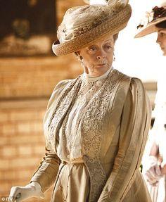 Dame Maggie Smith  Downton Abbey