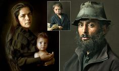 Beautiful photos of gypsies that look like Old Masters paintings