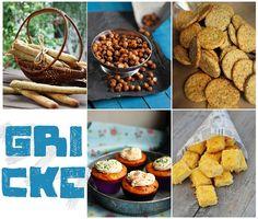 Da li volite da grickate? Mi obožavamo, zato smo vam u aktuelnom broju pripremili naše omiljene grickalice. Recepte možete pronaći na str. 11-21.    http://mezze.rs/exhibit/mart-2013/    * Grisini sa začinskim biljem, Hrskave leblebije, Integralni keks, Kapkejks sa ementalerom, Žu-žu sa kačkavaljem *