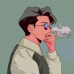 Old Anime, Anime Guys, Aesthetic Anime, Aesthetic Art, Manga Art, Anime Art, Art Sketches, Art Drawings, Character Illustration