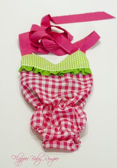Flapper Baby Romper (sewing remix)