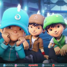 Boboiboy Water, Boboiboy Earth and Boboiboy Leaf Galaxy Movie, Boboiboy Galaxy, Boboiboy Anime, Doraemon Wallpapers, Galaxy Pictures, First Pokemon, Best Hero, Eevee Evolutions, Adventure Film