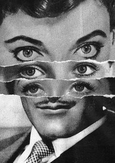 Inspiring artist of the week! Enjoy the collages by the English artist Steven Quinn. I love the simple but genial juxtapositions on his works. Collages, Photomontage, Collage Portrait, Psy Art, Montage Photo, English Artists, Arte Horror, Monochrom, Art Plastique
