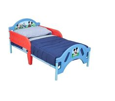 disney mickey mouse toddler bed crib bed frame bedroom mattress not included disney 90