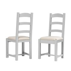 Chester Grey Ladderback Dining Chair - The Cotswold Company