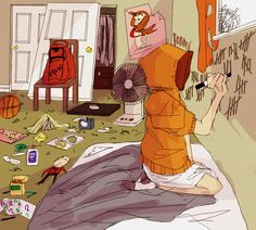 Kenny McCormick ~ bedroom