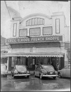 A BLAST FROM THE PAST! Cecil Elrod's The French Shoppe was located at 118 North Church Street (current home of The Guidance Center), but the building was origianally The Princess Theatre. The French Shoppe moved into the building in 1929 and remained there until the early 1980's. Who has memories they would like to share of Cecil Elrod's The French Shoppe?