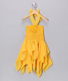 halter handkercheif dress