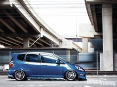 JDM front 2007 Honda Fit Sport - Waiting Game via HondaTuningMagazine.com