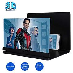 and Gaming Stands Hions 3D Enlarge Screen Magnifier,HD Amplifier Projector Magnifing Screen Enlarger for Movies Videos