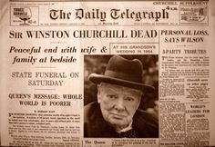 vintage everyday: 28 Newspaper Headlines From the Past That Document History's Most Important Moments