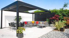 Outdoor Pergola, Outdoor Spaces, Outdoor Living, Outdoor Decor, Modern Pergola, Diy Pergola, Louvered Pergola, Pergola Designs, Luxury Living