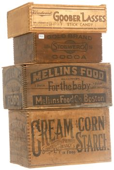 Wooden shipping crate ideas vintage wood 33 new ideas Vintage Wood Crates, Old Wooden Boxes, Wooden Crates, Wood Boxes, Wooden Diy, Wooden Shipping Crates, Shipping Boxes, Crate Bench, Milk Crates