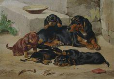 El Hurgador [Arte en la Red]: Pintando perros / Painting dogs (XVIII)