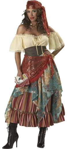 Fortune Teller Gypsy Costume