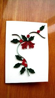 Christmas Quilling: Christmas bells