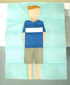 All sizes | paper pieced son, via Flickr.