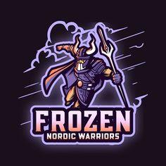 Vector Logos, Gaming Logo, Warrior Logo, Android Phone Wallpaper, Esports Logo, Online Logo, Logo Maker, Logo Design Inspiration, Logo Templates