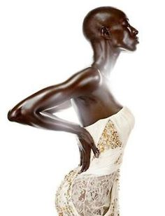 Black Women with poise. African Beauty, African Women, African Fashion, African Makeup, African Tribes, Brown Skin, Dark Skin, Black Girl Magic, Black Girls