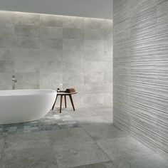 What about bathing in a peaceful and serene ‪#‎bathroom‬ like this from Tempo series? Find out the full collection ➤ http://www.grespania.com/ref72499en