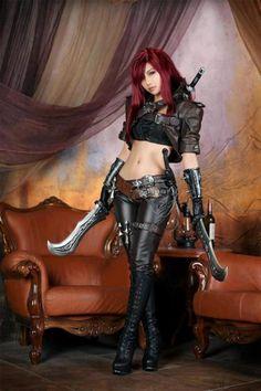 Katarina cosplay (League of Legends)