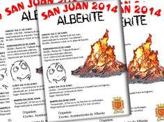 #Alberite celebra las #fiestas de San Juan con la siguiente #programación: ♪ ♫...#FiestasRiojanas... ♪ ♫