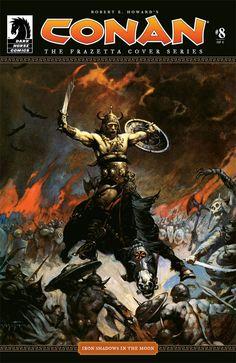 Conan: The Frazetta Cover Series #8