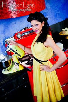 a pinup mixed with a kitchenaid ='s AMAZING!!!