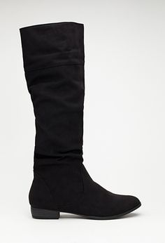 Tall Faux Suede Boots | FOREVER21 - 2000099362 size 7.5
