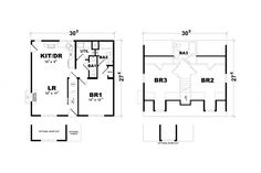 Barclay Floorplan of American Lifestyle Collection - Modular Home - All American Homes