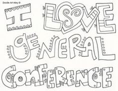 18d74fc8a dc95a7939c26e7 lds general conference notebook lds general conference coloring pages