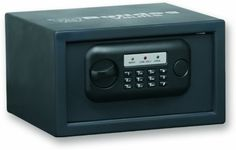 """Bulldog 7 X12 X 10-Inch Standard Digital Pistol Vault by Bulldog Vaults. $56.99. Heavy-duty steel construction. More than 1000 combinations. Secure hidden key override. Pre-drilled mounting holes. 12 digit key pad for more secure combination options. 7"""" x 12"""" x 10"""" Standard Digital Pistol Vault  12 digit key pad for more secure combination options More than 1000 combinations Secure hidden key overridePre-drilled mounting holes Soft bottom carpet for protection, He..."""