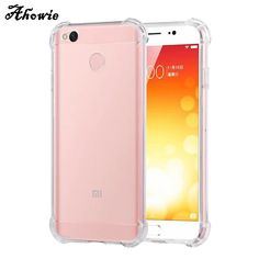 ab576ff51 Aliexpress.com   Buy Ahowie Crystal Clear Shock Absorption Bumper Soft TPU Cover  Case For Xiaomi Redmi 5 Plus 4x Pro 4A Note 4X 5A Mi 8 A1 5X Mix 2S from ...