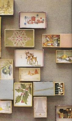 shadow box match boxes by alyson