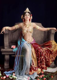 Mata Hari 1910s [645x900] (colorized) #HistoryPorn #history #retro http://ift.tt/1PwKYJF