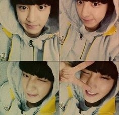 Chanyeol shows his excitement for EXO's fan club name through cute 4-set selcas   http://www.allkpop.com/article/2014/08/chanyeol-shows-his-excitement-for-exos-fan-club-name-through-cute-4-set-selcas