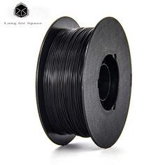 33.12$  Know more  - Black 1.75mm PLA/ABS 3D Printer Filament New High Quality Plastic PLA Filament 1Kg/Spool For 3D Printer Or 3D Pen 20 Colors